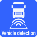 The magnetive inductive loop allows to detect the vehicles.