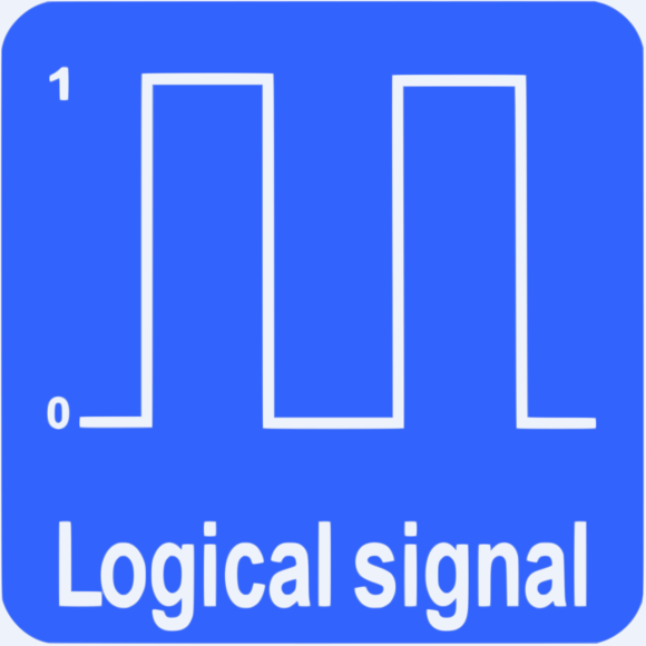 Loop detector with logical signal (on off control).